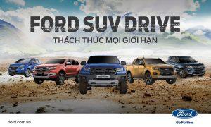 Lái thử Ford SUV Drive – Cơ hội trải nghiệm SUV kiểu Mỹ trên đường offroad ngay tại đô thị