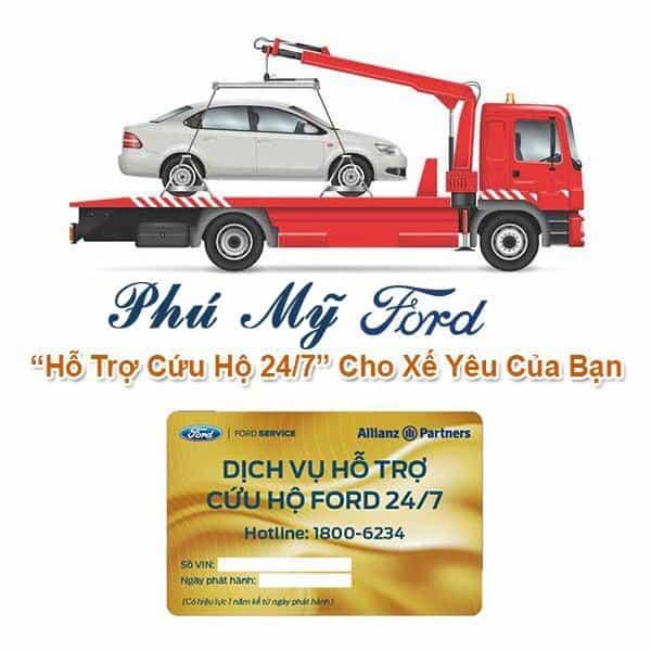 Mua xe Ford được hỗ trợ và cứu hộ miễn phí
