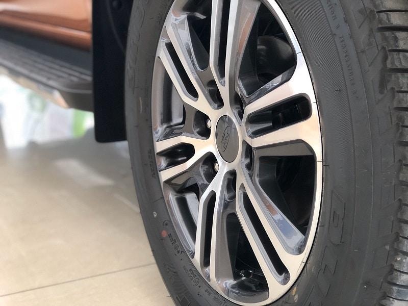 Mâm xe Ford Ranger 2020 - Ford Ranger 2020 | Thêm trang bị tiện nghi giá không đổi