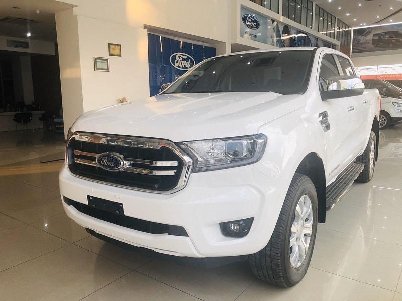 Ngoại thất Ford Ranger Limited 2020 - Ford Ranger Limited 2020 | Hai cầu số tự động có gì mới?