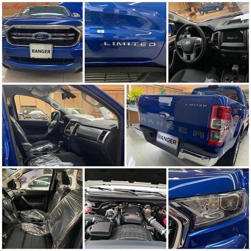 Ford Ranger Limited 2020 | Hai cầu số tự động có gì mới?