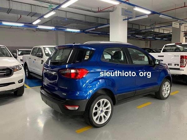 duoi xe ford ecosport 2021 - Xe Ford Ecosport 2021 | Thay đổi diện mạo, nâng cấp tính năng mới