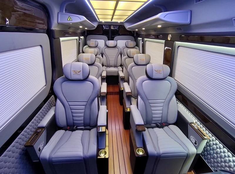 Nội thất Hyundai Solati Limousine 2020 - Đánh giá xe Hyundai Solati Limousine 2020, Hãng xe dịch vụ thương gia đẳng cấp