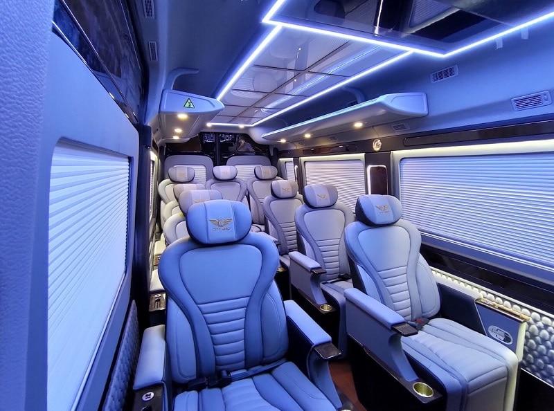 Tiện nghi Hyundai Solati Limousine 2020 - Đánh giá xe Hyundai Solati Limousine 2020, Hãng xe dịch vụ thương gia đẳng cấp