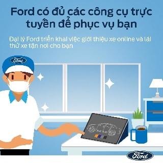 công cụ bán hàng ford - Chương trình Showroom Ford bán xe trực tuyến