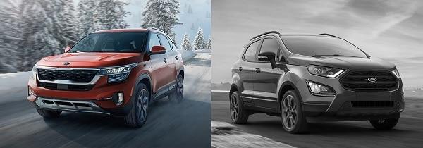 gia xe ford ecosport 2021 - So sánh Ford Ecosport 2021 và Kia Seltos 2021