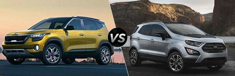 So sánh Ford Ecosport 2021 và Kia Seltos 2021