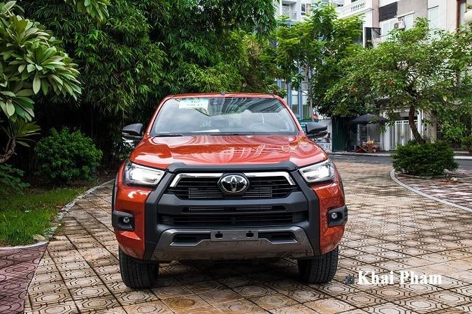 dau xe hilux - So sánh Toyota Hilux và Ford Ranger 2021