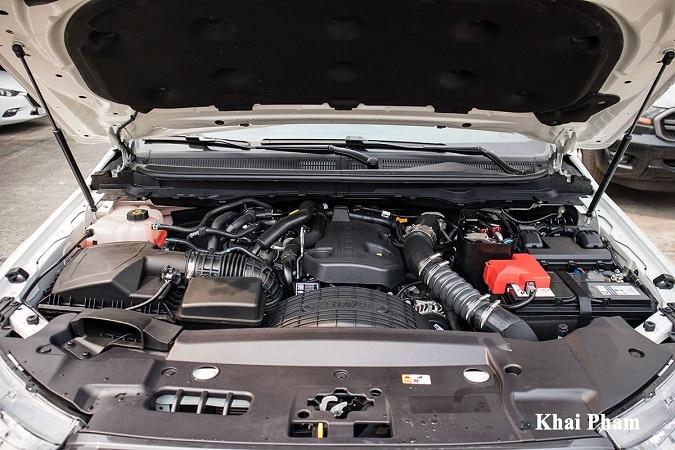 dong co ranger - So sánh Toyota Hilux và Ford Ranger 2021