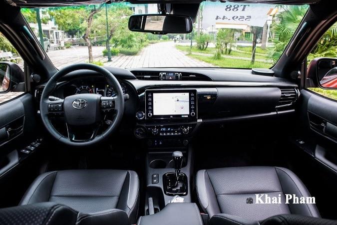 noi that hilux - So sánh Toyota Hilux và Ford Ranger 2021