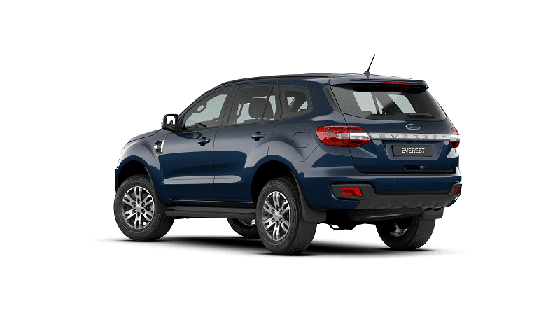 duoi xe ford everest ambiente 2021 - Đánh giá Ford Everest Ambiente 2021 hoàn toàn mới